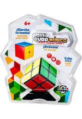 Cube Magique Mini 2x2x2 avec Socle