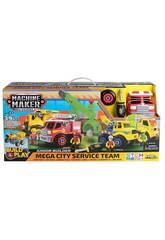 Maschine Maker Mega City Services Team Nikko 49016