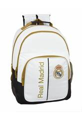 Mochila Doble Real Madrid 1ª Equipación 19/20 Adaptable a Carro Safta 611954773