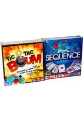 Pack Juegos Tic Tac Boum + Sequence Goliath 914531