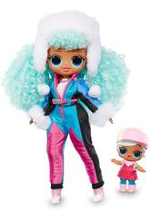 LOL Surprise OMG Serie Winter Chill Muñeca Icy Gurl Giochi Preziosi LLUE3100