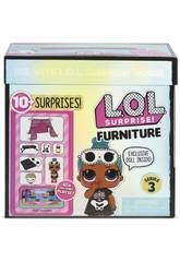 LOL Surprise Furniture Pack Con Muñeca Serie 3 Giochi Preziosi LLUC8000