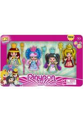 Pinypon Pack Queens 4 Figurines Famosa 700015821