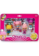 PinyPon Pack 4 Figure Neve Famosa 700015771