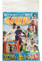 La Liga Este 20-21 Pack Álbum con 8 Sobres Panini