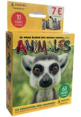 Animais 2020 Pack 10 Envelopes Panini