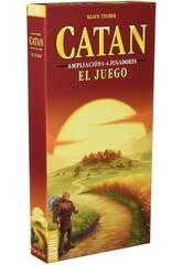 Catan Ampliación 5-6 Jugadores El Juego Devir BGCATAN56