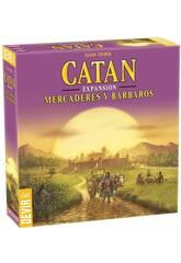 Catán Espansione Mercanti e Barbari Devir BGMERCADERES