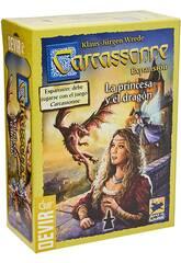 Carcassonne Expansión La Princesa y El Dragón Devir BGCARPRI