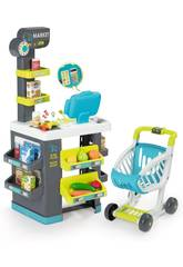 Supermarché Market avec Chariot Smoby 350212