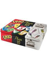 Uno, Phase 10 y Snappy Dressers Mattel FFK01
