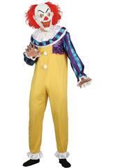 Disfraz Adulto Hombre Creepy Clown Talla L