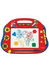 Super Mario Pizarra Mágica Multicolor con Accesorios Mágneticos Lexibook CRNI550