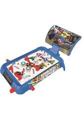 Mario Kart Pinball Elettronico con luci e suoni Lexibook JG610NI