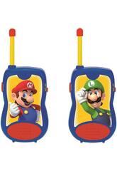 Super Mario Walkie Talkies 120 M. Lexibook TW12NI