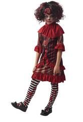 Disfraz Creepy Clown Niña Talla S