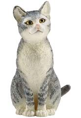 Chat Assis Schleich 13771
