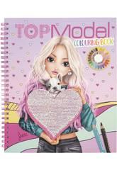 TopModel Libro Para Colorear Lentejuelas 11146