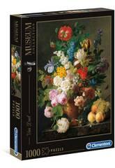 Puzzle 1000 Van Dael: Jarrón Con Flores Clementoni 31415