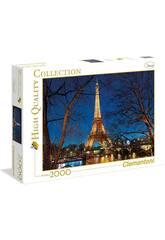 Puzzle 2000 París Clementoni 32554