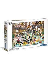 Puzzle 6000 Soirée de Disney Clementoni 36525