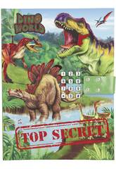 Dino Diario con Código Secreto 10972