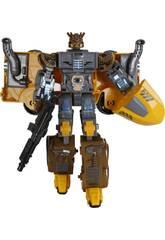 Camião Robô Conversível Amarelo