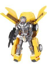 Coche Robot Convertible Amarillo