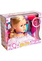 Puppebüste mit Zubehör
