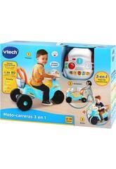 Moto De Course 3 En 1 Bleue et Jaune VTech 529422