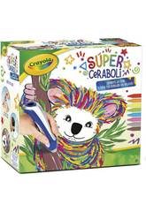 Crayola Súper Ceraboli Koala 25-0392