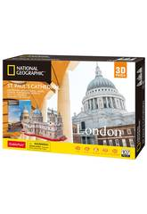 National Geographic Puzzle 3D St. Pauls Kathedrale World Brands DS0991H