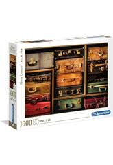 Puzzle 1000 Maletas de Viaje Clementoni 39423