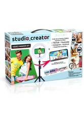 Studio Creator Video Maker Kit Canal Toys INF001
