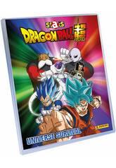 Dragon Ball Super Staks Mega Pack Archivador, 2 sobres y Tablero de Juego Panini 8018190011883