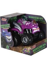 Monster auf Rädern Lila Reibungsauto