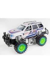 Vehículo Fricción Racing Blanco