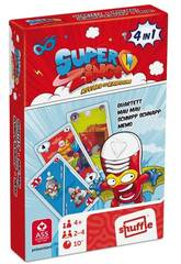 Superzings Baraja Cartas 4 En 1 Cefa Toys 684