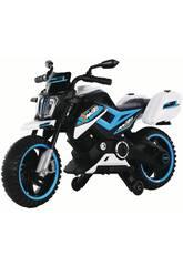 Batterie MotoXR Bleu avec musique 12V