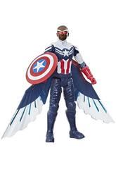 Avengers Titan Hero Falcon figura Capitan America Hasbro F2075