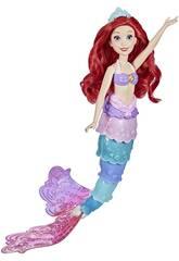 Disney Princesses Poupée Ariel Queue Arc-en-ciel Hasbro F0399