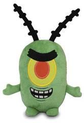 Bob l'Éponge Mini Peluche Plankton Bandai 690506