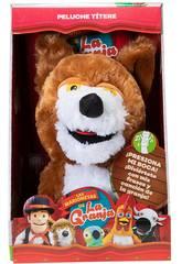 La Granja De Zenón Marioneta Musical Lobo Beto Bandai AR84702