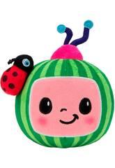 Cocomelon Logo Peluche Pastèque Bandai WT80118