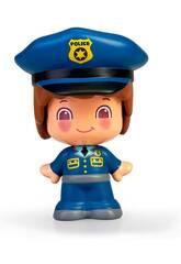 Pin und Pon Figur Berufe Polizeibeamter Famosa 700016289