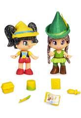 Pinypon Märchen 2 Figure Famosa 700016381