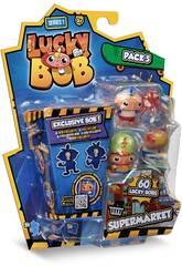 Lucky Bob Pack 5 Figuras com Temática Serie 1 IMC Toys 81246
