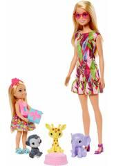 Barbie e Chelsea Aniversário Mattel GTM82
