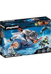 Playmobil TopAgents Spyteam Planeador de Nieve 70231