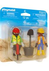 Playmobil Ouvriers 70272
